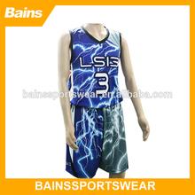 new design cheap camo basketball uniform set