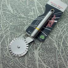 JJJ415 Argentina pattern steel handle stainless steel pizza knife