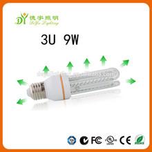 Lowest price led energy save led light 3w 2U shape with CE ROHS