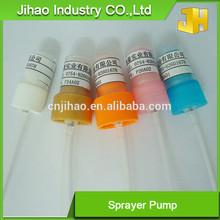 Factory suppllier 18/20/24mm skin whitening body spray pump