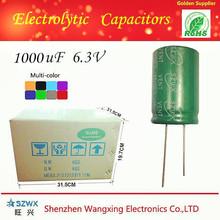 Capacitors Low Voltage Shenzhen manufacturers 1000uf 6.3v condenser fan
