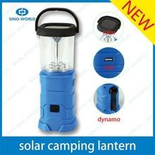Multi Solar power camping lantern light Portable USB kerosene hurricane lamp