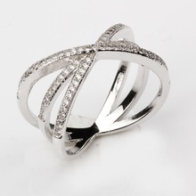 shiny jewelry fashion wholesale ring,factory supply 925 Sterling Silver jewelry wholesale