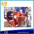 guincho ar utilizado sob a baixa temperatura ambiente com o freio de mão e freio a disco