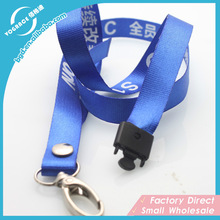 2015 Personalized Custom Lanyard Newest Hot Sale Lanyard with Safety Clips