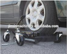 Motorcycle/Vehicle mover hydraulic positioning jacks