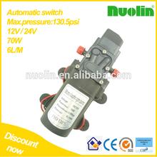 Interruptor de pressão automático - 70 w 6L / M elétrica máquina de lavar roupa pequena bomba de recalque de água de bombeamento de água, Spray, Limpeza