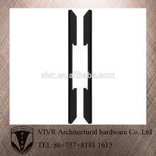 high precision custom chrome stainless steel furniture handle
