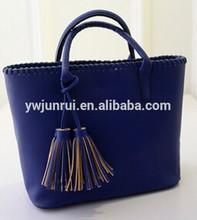 Fancy designer tasseles woman tote bags