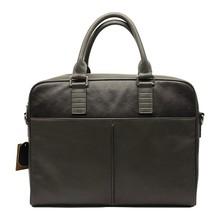 2014 hot selling business men genuine leather briefcase shoulder bag