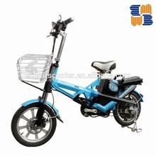 250W Steel frame Mini folding electric bicycle for India ,Bangladesh market