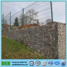 2x1x1m Galvanized Wire Mesh Gabion Stone Cage