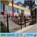 2 trilho de aço casas entrada portões design