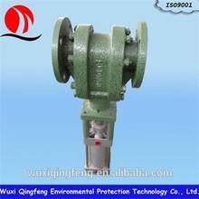 long life exhaust steam valve