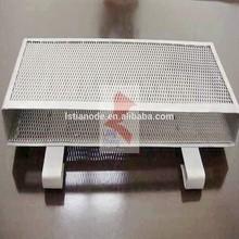 Titanium and titanium alloy baskets of manufacturer