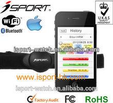 Trendy Bluetooth 4.0 wireless transmission heart rate belt W183 with app Isport Fitness Tracker