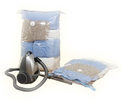 Vacuum compressed bags for saving space and neat, vacuum storage bag