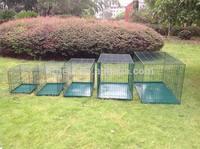 Wholesale Green Metal Large China Dog Cage