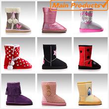 2015 fashion warm winter Kids girls boots