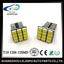 12smd 1206 194 168 led 12v led interior lights