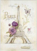 La Tour Eiffel decal for vase or artwork