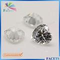pedras preciosas facetas da fábrica venda direta em forma de coração cz gemas de pedras preciosas em dubai