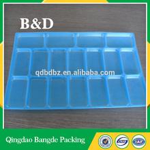 Alibaba China Multiple Lattice Storage Pp Plastic Tray