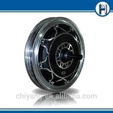 Electric wheel hub motor, permanent magnet brushless dc motor