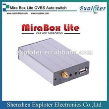 car standard Mira Box Lite CVBS Auto switch Screen mirroring