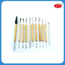 11 piezas de alta calidad de cerámica de arcilla para herramientas de modelado de arcilla