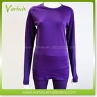Custom Logo Thermal Seamless Women Underwear Set