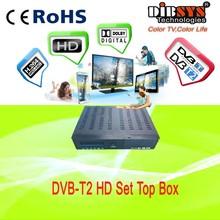 64MBbit 1920*1080 DVB-T2 hd Set Top Box MPEG4/H.264