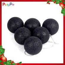 Wholesale Hot Sale Outdoor Christmas Decorations Big Plastic Christmas Ball Christmas Black Ball