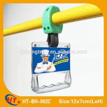 New advertising plastic bus hand pen