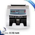 Buena calidad de papel que cuenta la máquina, Euro de billetes