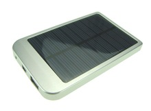 2015 NEWEST 2600mAh Portable Solar Charger for Mobile Power Bank the best travel partner