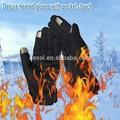 toptan uzun deri ekran dokunmatik pil ısıtmalı eldiven