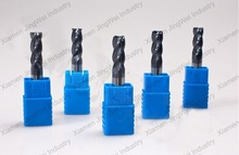 solid carbide square open end spinning mill, end mill sharpener 2/4/6 flutes flat end mill