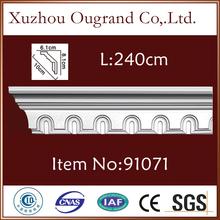 factory outlet decorative pu cornices Bevel Width:10.0cm