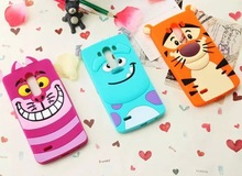 Sulley silicone case for LG G3 D850, tiger soft cover case for LG G3