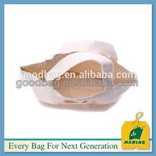 natural color cheap handbag initial canvas cotton bag