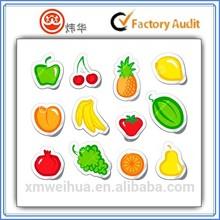 2015 Mixed Fruit Orange Cherry Banana Pear shapeful Sticker