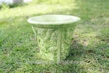 Indoor decorative ceramic cheap pottery/ ceramic flower pots/ small ceramic flower pots