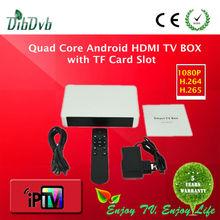 IPTV Android 4.4.2 Quad Core HDMI TV BOX Support XBMC bluetooth