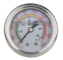 gas pressure gauge manometer