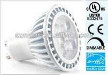 Enregry Star UL CUL led GU10 6W 450 lumens 60w halogen spotlight 25000 hours life time GU0630KFLA