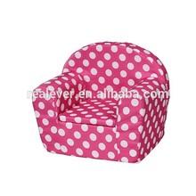 fabric sponge one seater single kids armchair children sofa