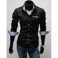 新しいスタイルの豪華な2014年スリムフィットカジュアルメンズtシャツ3653#