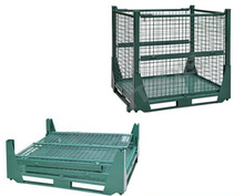 Favorites Compare Folding Wire Mesh Cage /Storage Foldable Steel Container
