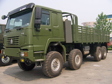 2015 New Sinotruk HOWO All Wheel Drive Cargo Truck 8x8 for sale